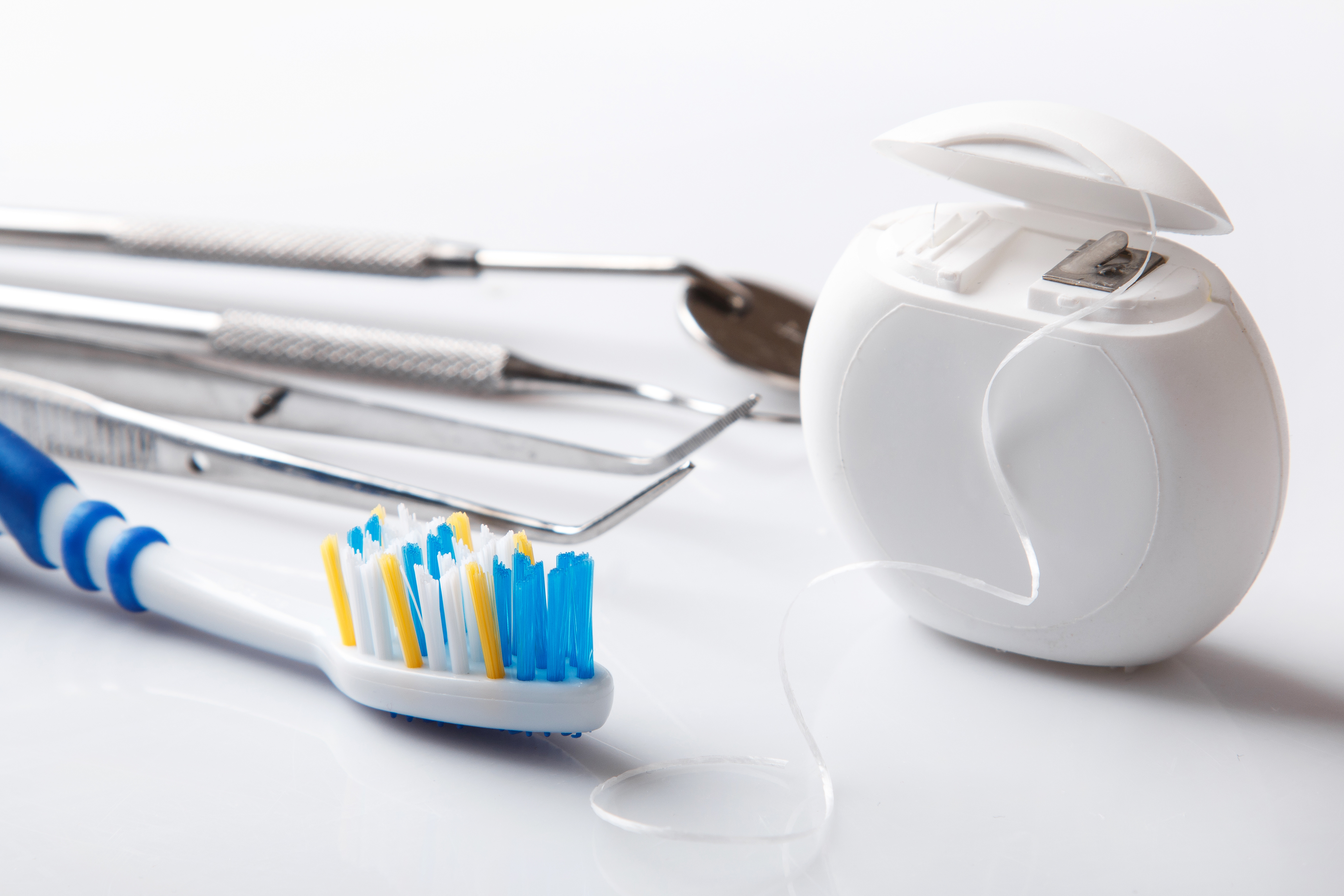 Different tools for dental care