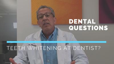 Teeth Whitening at Dentist