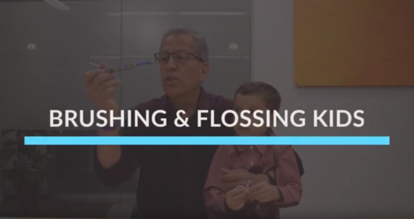 Brushing & Flossing Kids